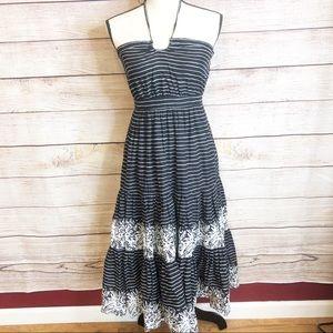 Gap Striped Floral Dress